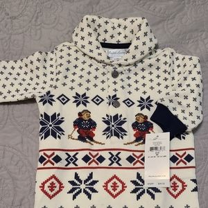 Polo Ralph Lauren baby boy sweater onesie